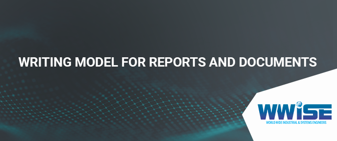 Writing Model for Reports and Documents